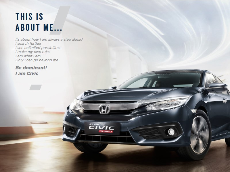 Brosur Honda All New Civic