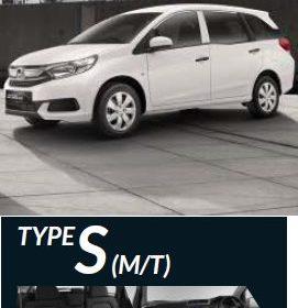 Spesifikasi Honda Mobilio Tipe S 2017 [Terbaru]