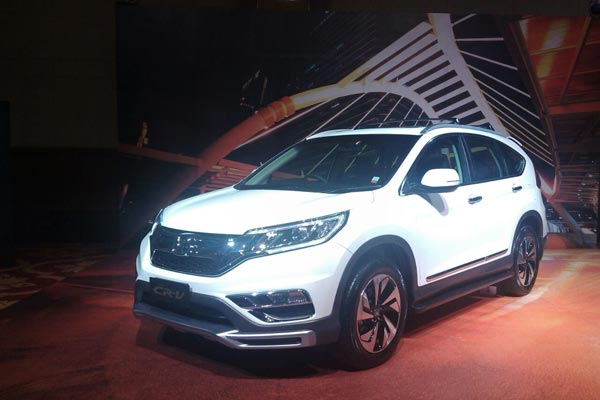 Honda New CR-V Facelift