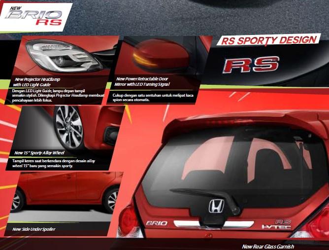Exterior Honda Brio RS