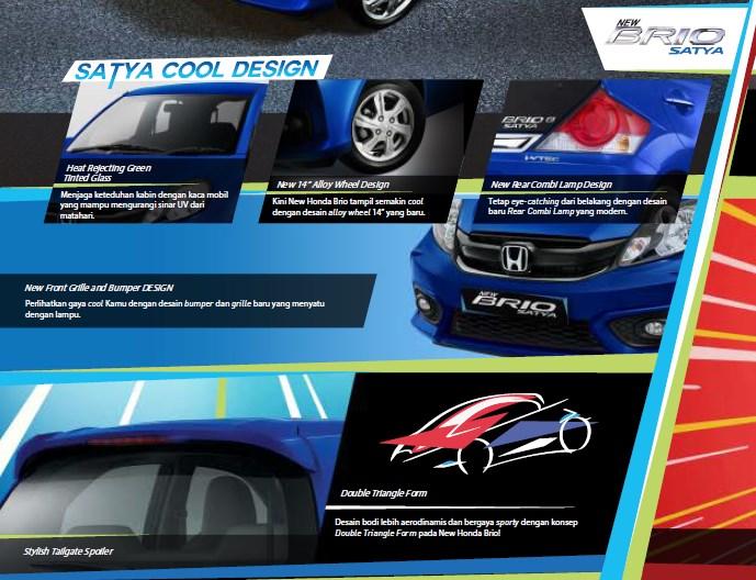Exterior Honda Brio Satya