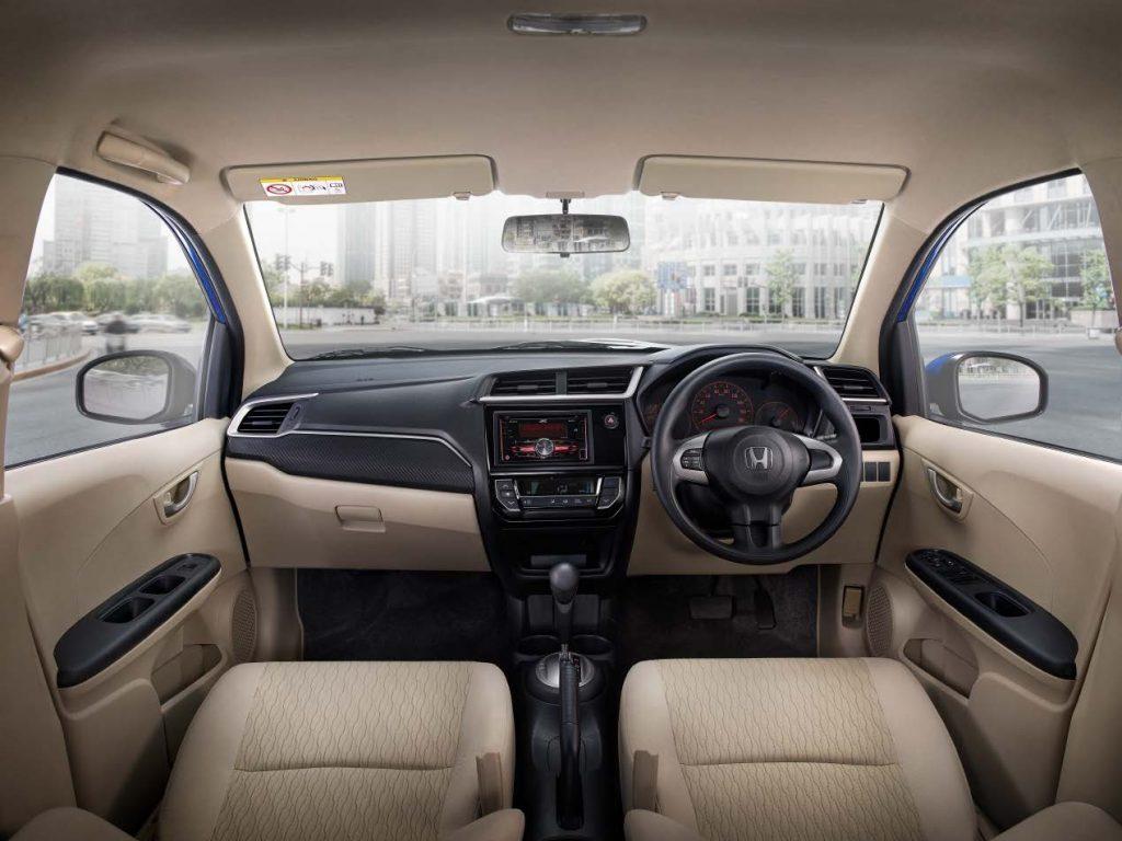 Interior Honda Brio Satya